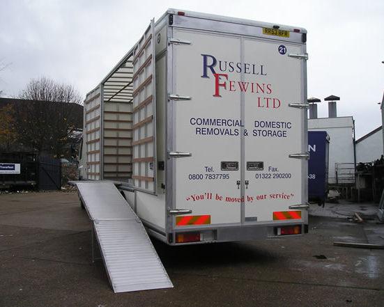 Russel Frewins Removals Storage
