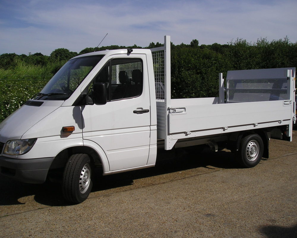 Side view truck